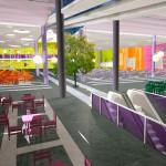 Ашан, Косино, Новоухтомское шоссе, проект торгового комплекса, внутренние помещения