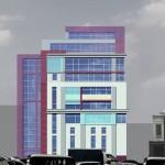Бизнес-центр, Долгоруковская улица, концепция, фасад