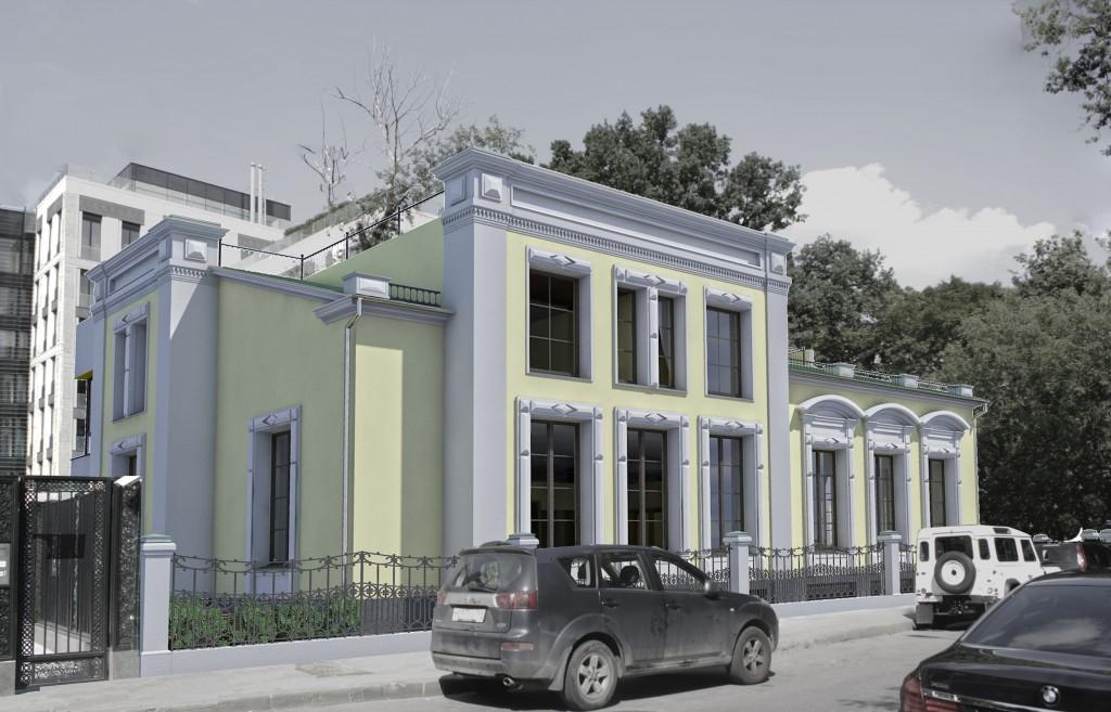 Апартаменты, Гранатный переулок, концепция, общий вид