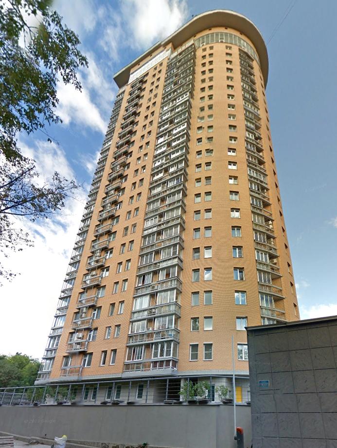 Жилой комплекс, ЖК Аврора, улица Гвардейская, башни, вид снизу