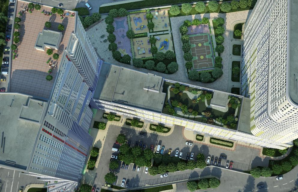 Многофункциональный жилой комплекс, ЖК Утесов, Карамышевская набережная, Проектируемый проезд, концепция, план территории