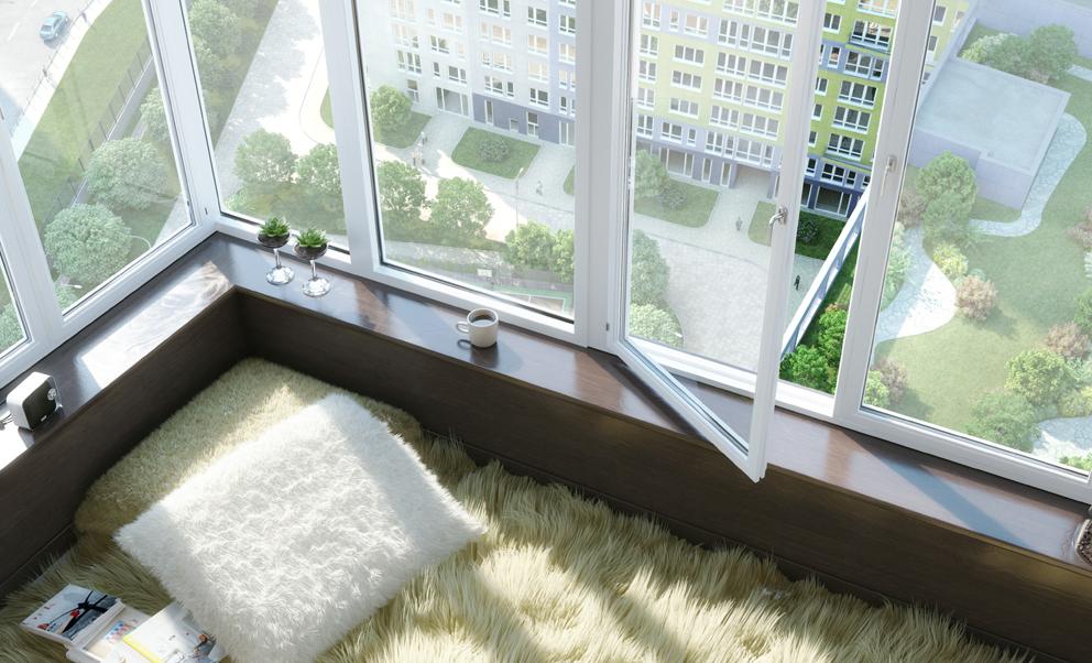Многофункциональный жилой комплекс, ЖК Утесов, Карамышевская набережная, Проектируемый проезд, концепция, уют, вид из окна