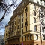 Жилой комплекс, Каретный Плаза, Большой Каретный переулок, фасад