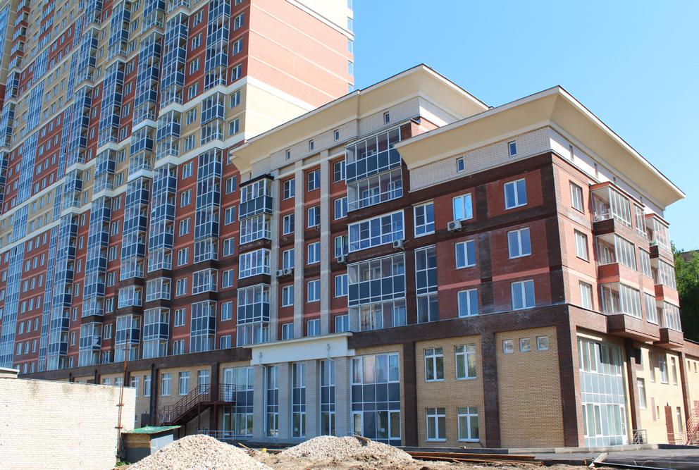 Жилой комплекс Единый Стандарт, Одинцово, Северная улица, фасад