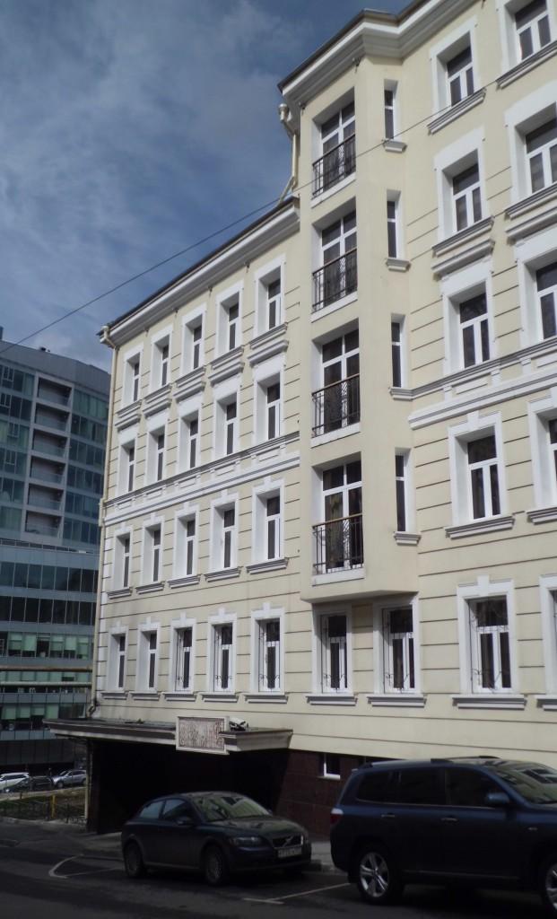 Жилой комплекс Печатников, Печатников переулок, фасад, общий вид