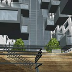 Гостиничный комплекс, улица Пришвина, концепция