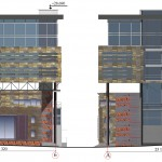 Реконструкция ресторана, Проточный переулок, фасады