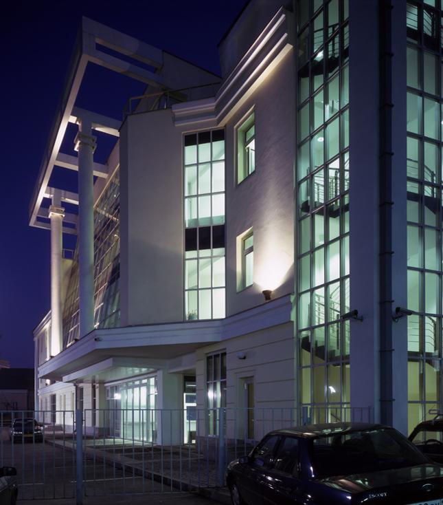 Административное здание, Таганка Атриум, Таганская 9, боковой фасад