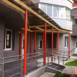 Сити 21 век, ЖК Альбатрос, улица Твардовского, внутренний двор