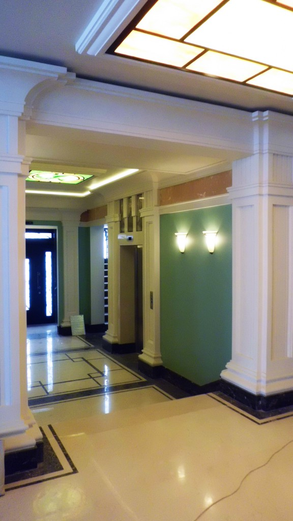 Офисный центр, Воронцовская улица, реконструкция, внутренняя отделка