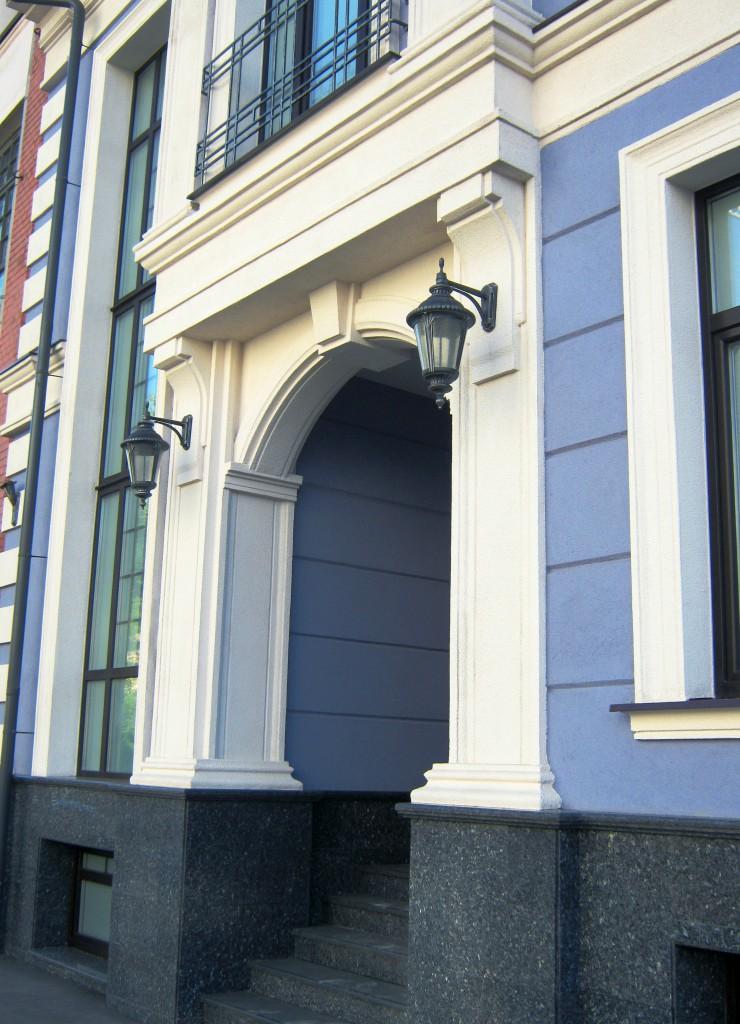 Офисный центр, Воронцовская улица, реконструкция, арка