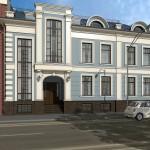 Офисный центр, Воронцовская улица, реконструкция, фасад