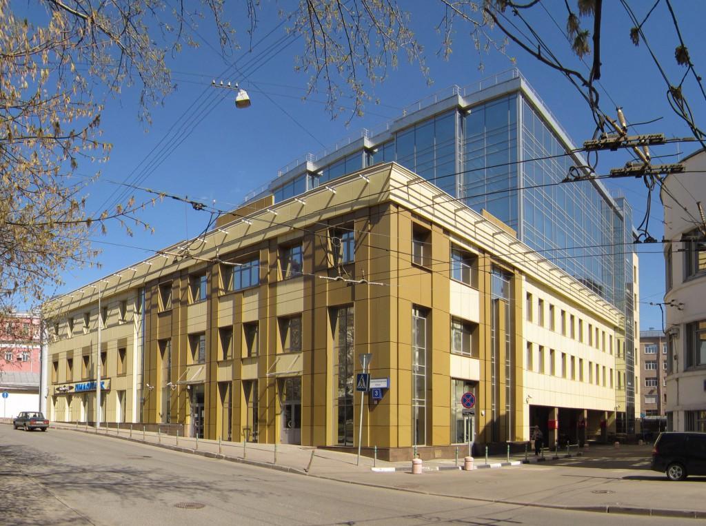 Бизнес-центр, Басманов, Доброслободская улица, общий вид