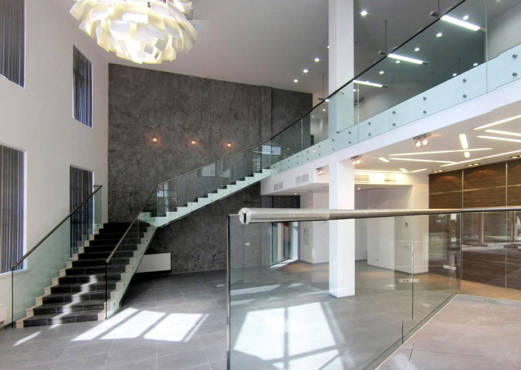 Бизнес-центр, Басманов, Доброслободская улица, внутренние помещения, лестница
