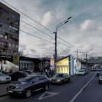 станция метро Нижние Мневники, проект станции метро, интерьер станции метро