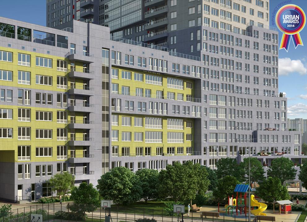 Multifunction residential complex «UTESOV»