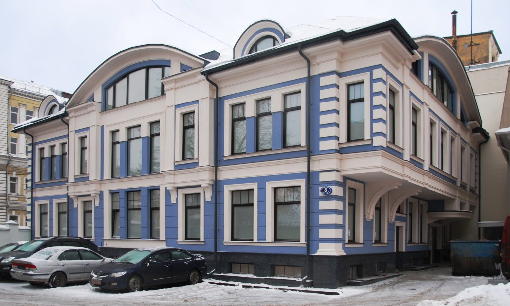 Office center at Vorontsovskaya street
