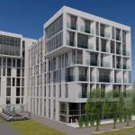 Бизнес-центр, Институтский переулок, дизайн-проект